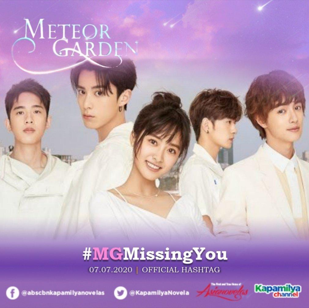 Meteor Garden   Official Hashtag  07.07.2020  #MGMissingYou https://t.co/bOjJ1tikjf