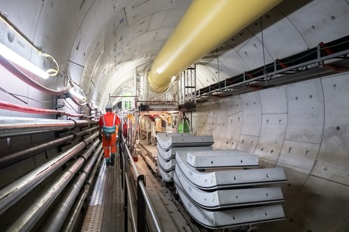 #TunnellingTuesday Ursula, the eastbound Tunnel Boring Machine launched from Tideway's Kir…
