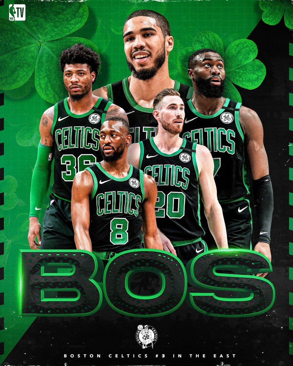 Boston means business. ☘️ Catch Team Restart: Boston @celtics at 9pm ET on NBA TV!