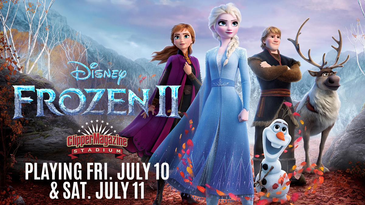 """Playing this Friday & Saturday at the Summer Movie Series presented by @HallerEnt @TurkeyHillDairy @HighCompanies - """"Frozen 2."""" 🥶❄️  🎟️https://t.co/l1fPFSBGQ7 https://t.co/23Kgk0hE5s"""