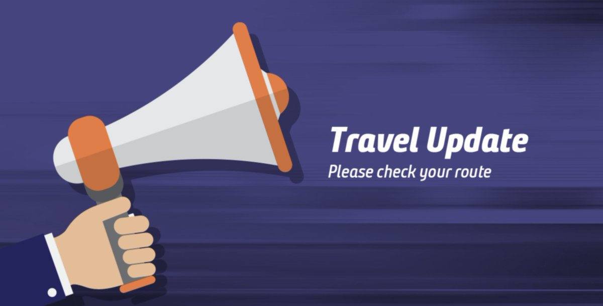 ⚠️ Due to trespassers on the railway between Sheffield and Barnsley all lines are blocked. ⚠️  Disruption is expected until 13:00 07/07.  Please see the Line Updates tab here: https://t.co/EpXBeW0ZQY https://t.co/HPQ0Y1cCbR