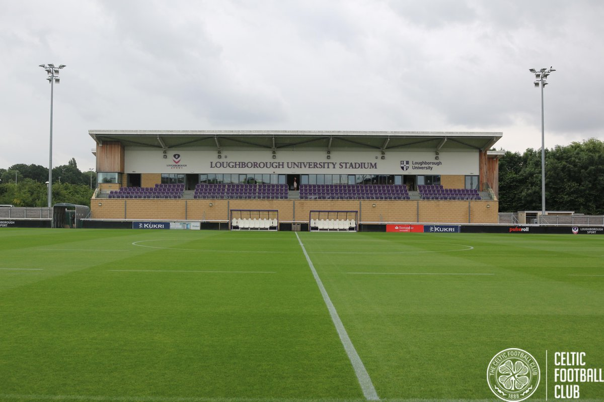 Happy to have you, hope you have a good stay! Nice for us to have a bit of football back on at the @lborofootball stadium and surrounding pitches @CelticFC @SISPitches @LboroSport @lborouniversity https://t.co/Nh0W0KNI1x