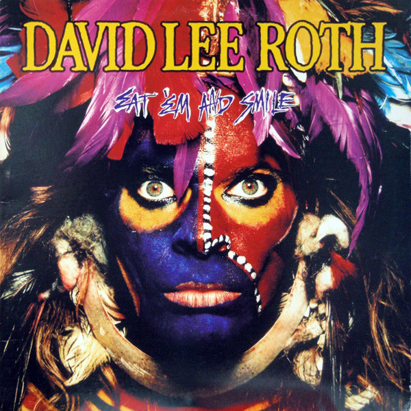 "Happy birthday to "" Eat'em And Smile "" by @DavidLeeRoth , 34 years old today. A true icon in interstellar spaces, with @stevevai @BillyonBass and @greggbissonette<br>http://pic.twitter.com/uiM1AL6vWV"
