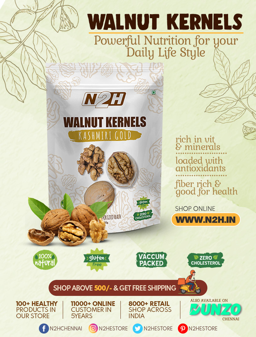 Walnuts Kernels - Buy Healthy Walnuts Online & Get Several Healthy Benefits. Shop Online & Free Shipping Above 500/- Only @ https://t.co/OboUUku407 #Walnuts #Buy #Healthy #Benefits https://t.co/AGDbN9EwbW