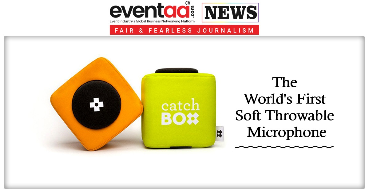 The World First Soft Throwable Microphone Read More.: https://bit.ly/2Z3a5C6  #microphone #eventplanner #Catchboxpic.twitter.com/23D4d3jWSK