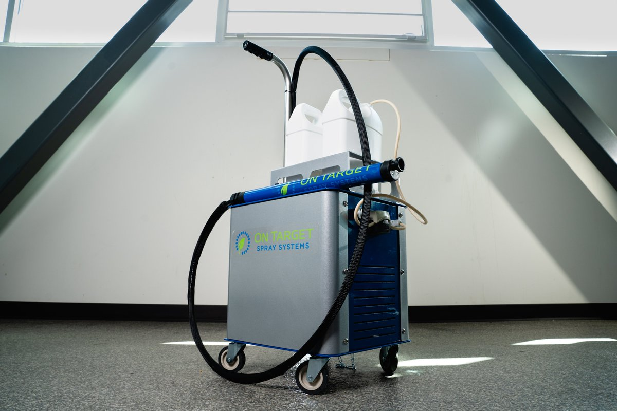 [Press Release] Barfield to Distribute On Target Spray Systems Electrostatic Cart in New Agreement. -------- ➡️https://t.co/9rEvNgS093  #MRO #US #MROAMERICAS #Spray #Ontarget #Barfield #COVIDー19 https://t.co/6s02BuPpXQ
