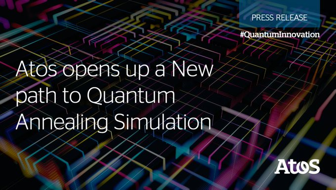 Atos announces the development of a new #Quantum #Annealing Simulator, becoming World's first...