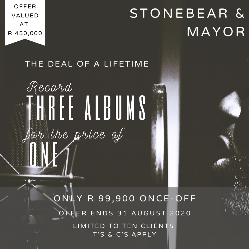 #Recording an #Album is a big deal. It takes guts, focus, and money to make it happen. In the midst of this very interesting 2020, @StoneBearMayor have decided to put out a CRAZY offer that'll fast track you as an #artist over the next 3 years. Click here: https://mailchi.mp/f8915b81e0f9/stonebear-mayor-music-presents-the-deal-of-a-lifetime-12345822…pic.twitter.com/EqEHvpC74l