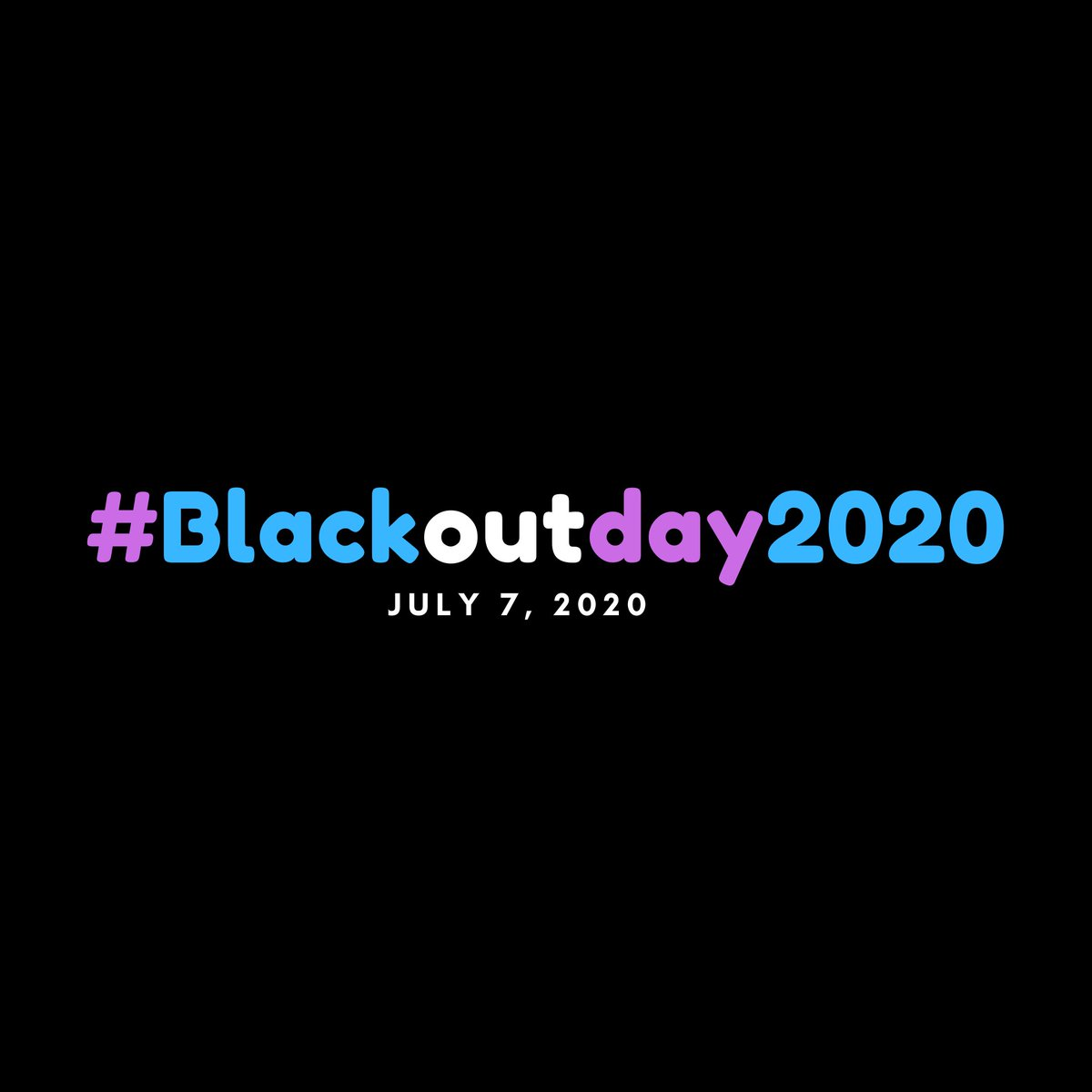 #BlackOutDay- One mechanism to help dismantle institutional racism is to empower. Today, July 7, 2020 is #BlackoutTuesday. Please find Black-owned businesses or organizations in your area you can support and support them beyond this day. #Blackoutday2020 https://t.co/aVN1JOhVeZ