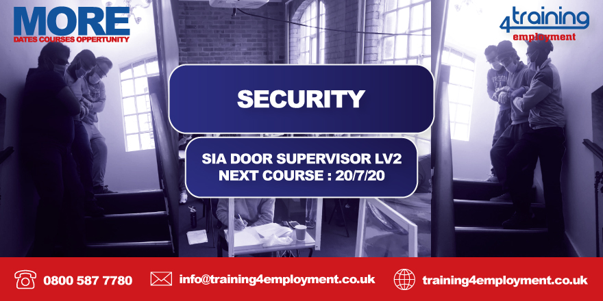 GET BOOKING  LIMITED SPACES AVAILABLE NEXT COURSE 20/7/20  0800 587 7780 info@training4employment.co.uk #jobs #nextavailable  #training #work  #career #careergoals #careerdevelopment #uk #jbirmingham #job  #trainingcourse #trainingcoursespic.twitter.com/QH8OAQIO8t