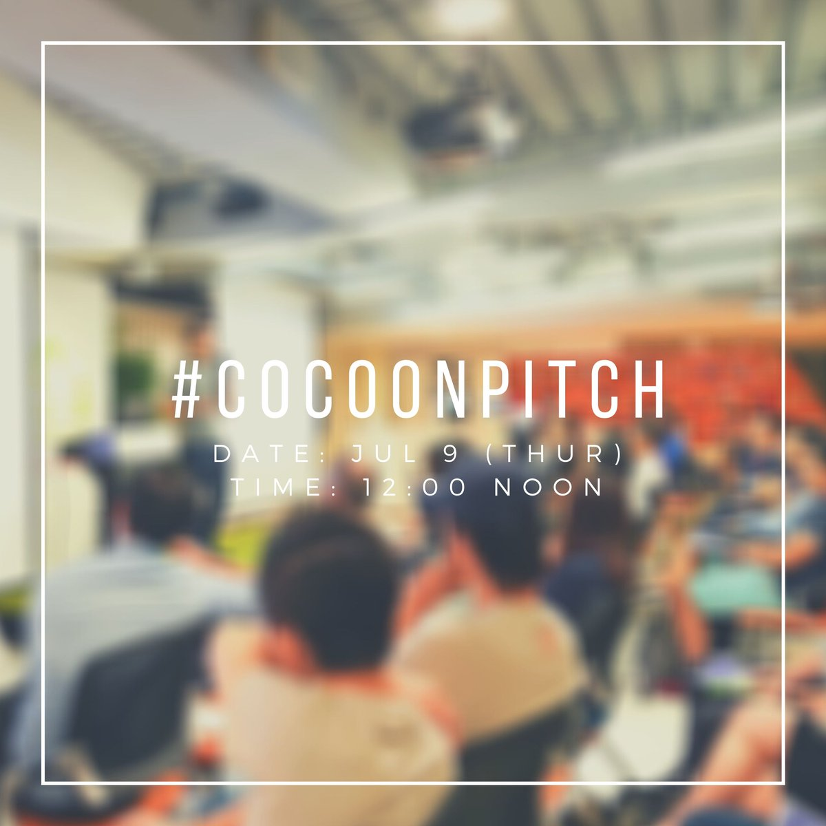 Are you curious about the future trend of investment?   Why not join our #CoCoonpitch to get a glimpse?   Go sign up right away!  RSVP:    #pitch #startup #hkstartup #entrepreneurship #investors #professionals #eventbrite #hkcocoon #cocoonpitch2020 #hk ... https://t.co/YY4GM7d9zB https://t.co/X6JrWsfMsb