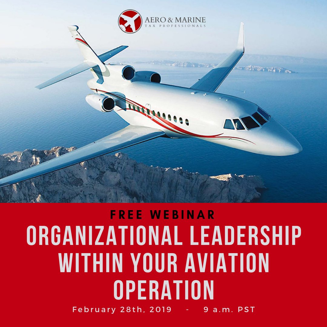 Webinar: Organizational Leadership   https://t.co/N11TcpafKp   #aviation #airplane #planes #jets #aircraft #pilot #helicopters #boats #vessels #sailing #yachts #businessaviation #bizav https://t.co/TBRk3SLjq8