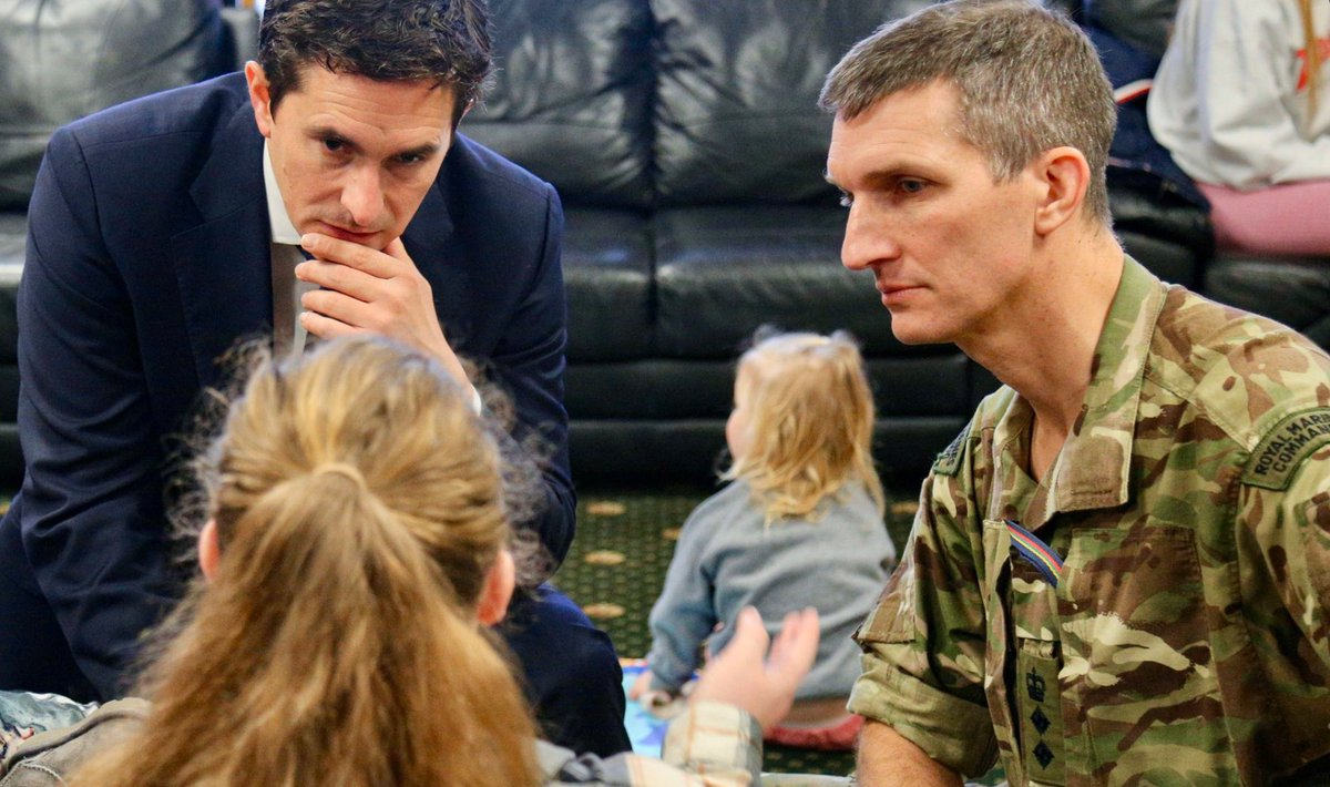 """I'm pleased we're continuing to honour our commitment to our hard-working personnel so they receive the right support to care for loved ones."" @JohnnyMercerUK on free wraparound childcare for the #ArmedForces announced today. https://t.co/WzDLx6sD1y https://t.co/eXSOTSHJbT"