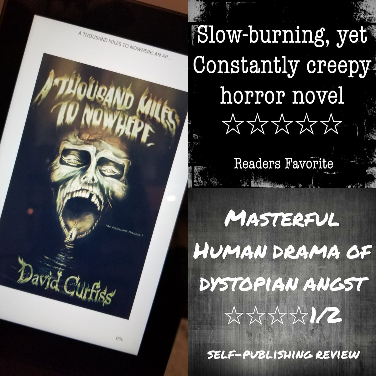 (Sponsored Post) If you like intense thrillers, vivid horror, and thought-provoking narrative, then you will enjoy this horror filled novel by David Curfiss https://t.co/gpSRXKK2Po