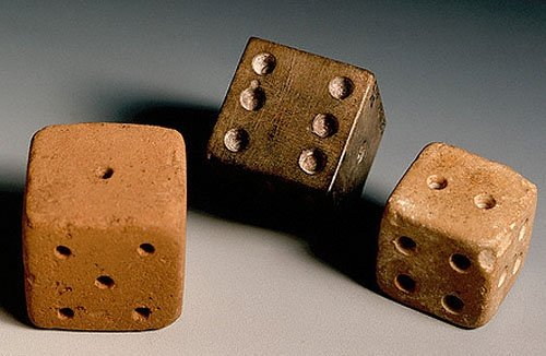 Dicing was a common game in Mohenjo-Daro (present-day province of Sindh, Pakistan). These dice are around 4,000 years old and baked from light-red clay (sometimes coated with red wash).   https://t.co/bweR8VNtYI #archaeology Indus Valley https://t.co/hokgMCtXVo