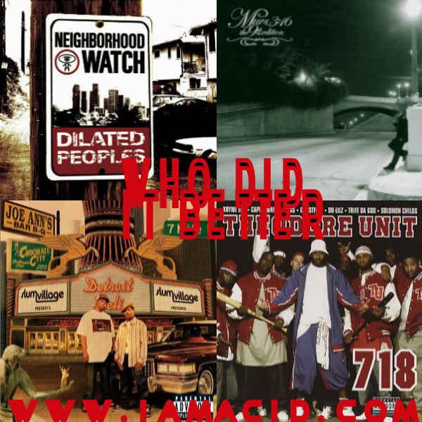 Who had the better album ? Dilated People's, Murs, Slum Village or Theodore Unit #WDIB #QOTD #IAMACID #ACIDDA1 #QuestionOfTheDay #WhoDidItBetter #ADMIRATION https://t.co/KE13n9dJhX