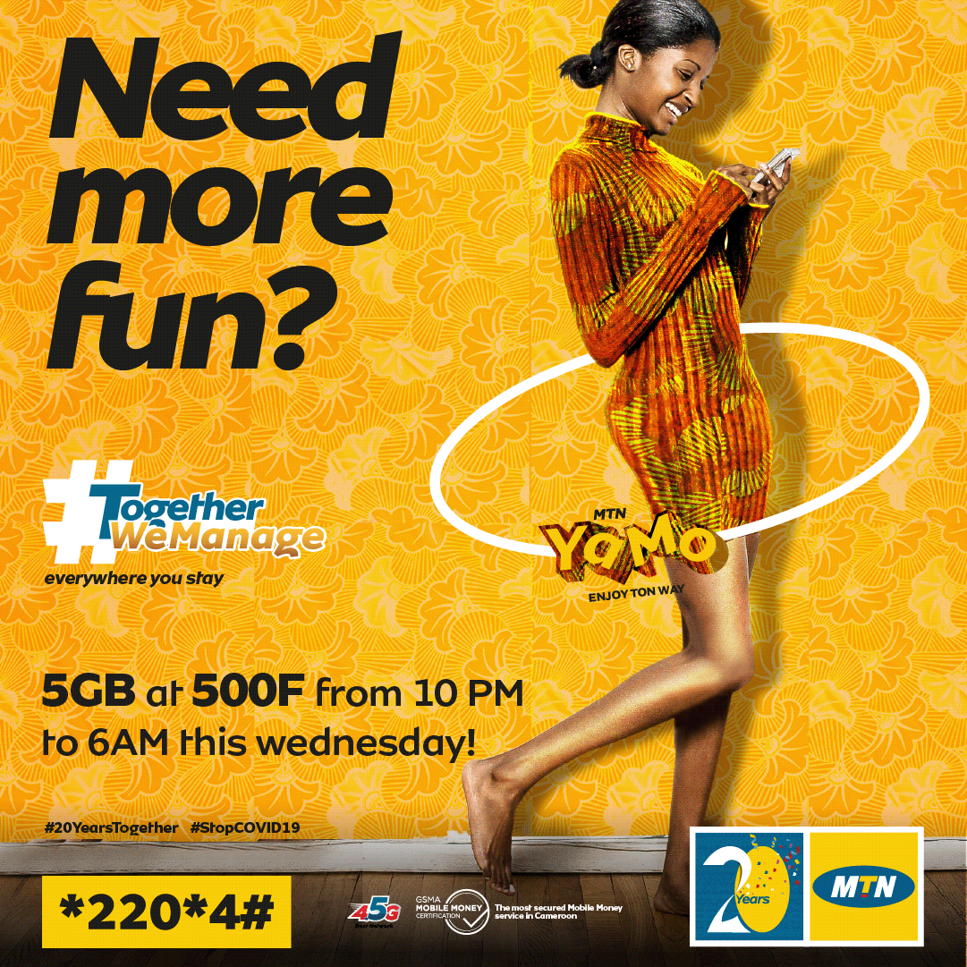 Y'ello! A say eh...you di sleep na weti when data trowey like sand for outside? Massa, subscribe to your YaMo bundle this Wednesday and enjoy 5GB at 500F from 10PM to 6Am. Dial *220*4# #MaYaMoNa #Data #MTNYaMo #TogetherWeManage https://t.co/e9odyKo0jv