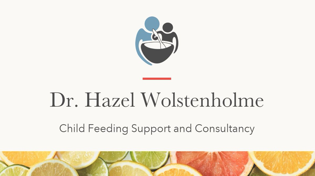 Delighted to have launched my website https://t.co/Rssvrf1tAH Providing evidence based support via online consultations to parents re. picky, fussy or avoidant eating. https://t.co/rlZ2Da6yNW