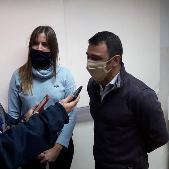 📷 #AYER El titular de la región Martín Gila presentó a Valentina Sontag al frente de @ansesgob #BellVille https://t.co/1jaEWEOpCq
