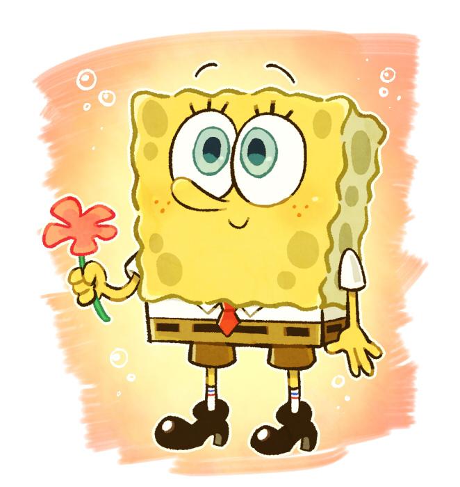 a flower for you #SpongeBob https://t.co/khuOW1YblZ