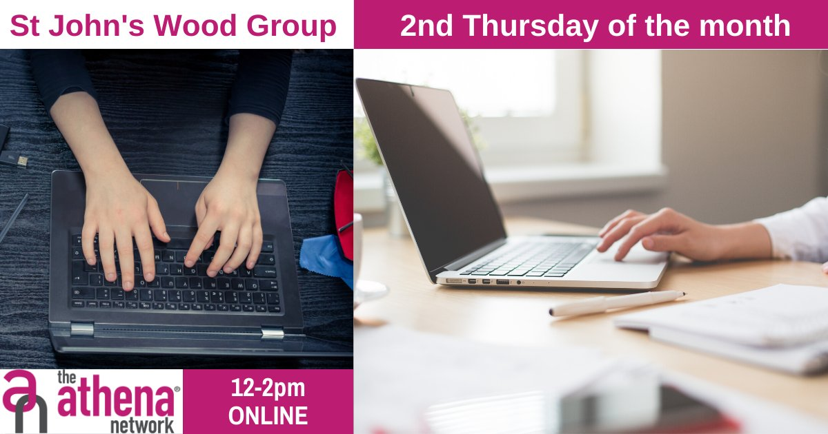 Our St Johns Wood virtual meet is this Thursday!!  Contact me to book your place now, don't forget these meetings are connecting to a wider audience across the UK.  #BeYourOwnBoss #NetworkLikeABoss #BusinessNetworking #CreateConnections #InspireSuccess #TheAthenaNetwork #Athena https://t.co/Cf9BDzUcBm