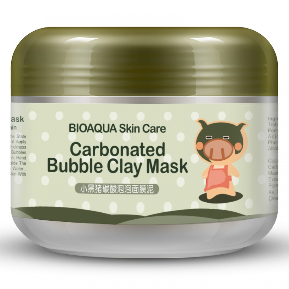 #streetwear #streetoutfit Carbonated Bubble Clay Mask