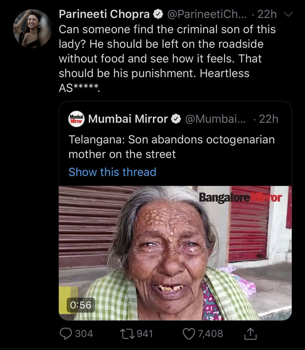 """@ParineetiChopra will u apologise to her son for calling him """"a**"""" and now give a similar name to her daughter in law? Or the propoganda is only gender specific? Hope you can be misandry free in ur perspective  @vaastavngo  @siff4india @MensDayOutIndia  @cskkanupic.twitter.com/BdOjnQfjWE"""
