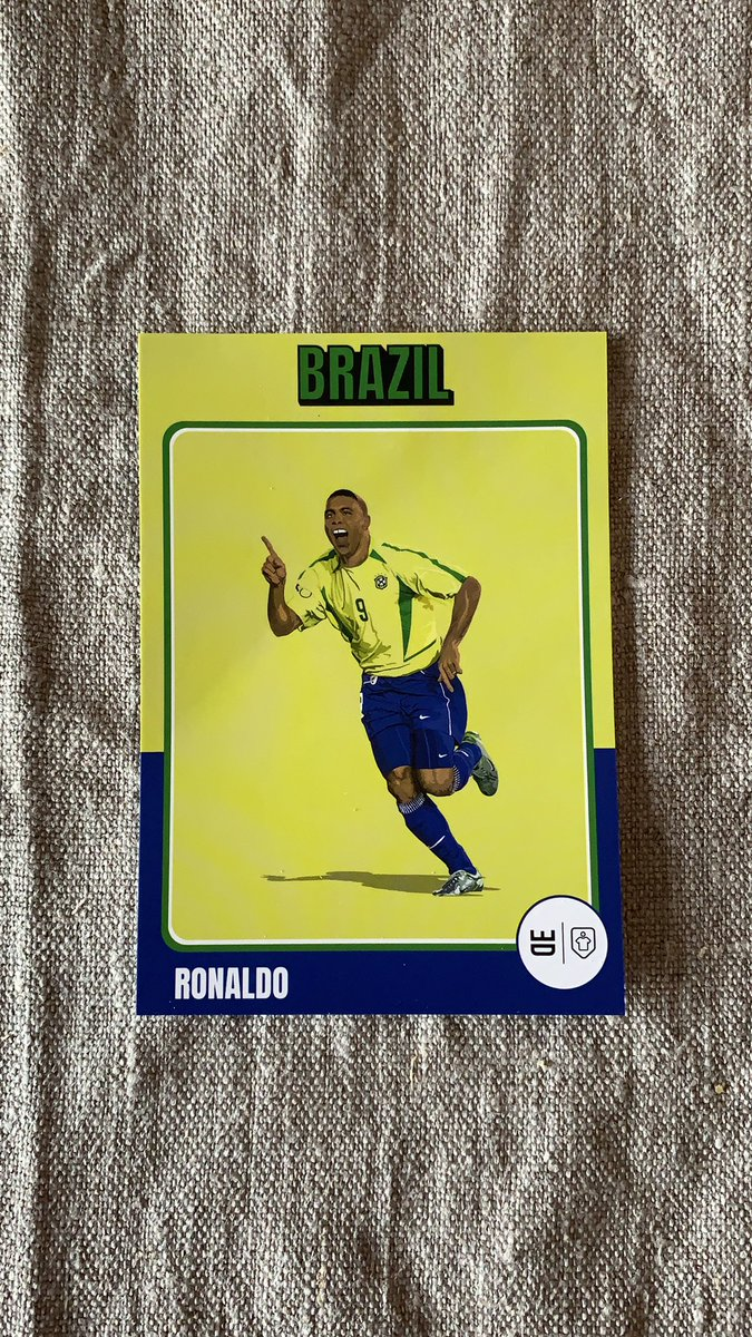 My go-to store for birthday presents is @classicshirts, the legend card inside counts as an extra gift too! Nothing less than Ronaldo aka IL FENOMENO this time! 🔵⚫️ #fangirl https://t.co/0UTiPd6AzR