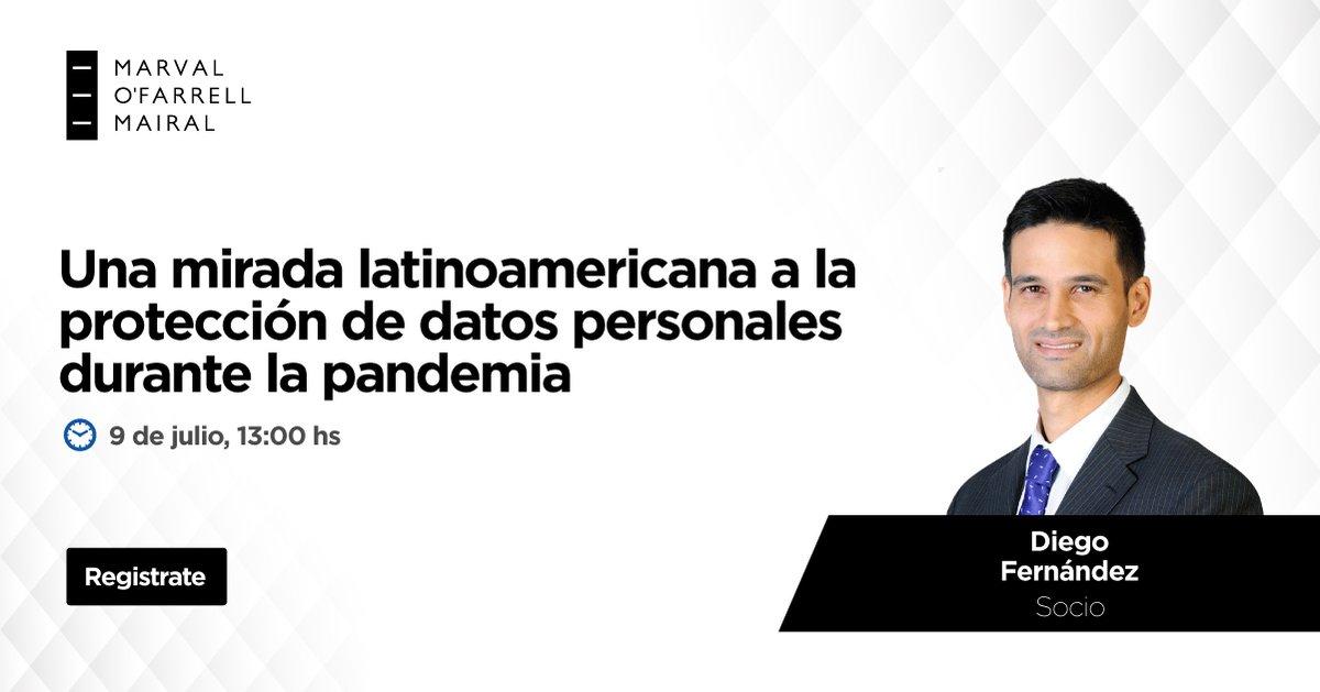 🔒 Nuestro socio Diego Fernández participará este jueves en un seminario online sobre la protección de datos personales y la seguridad de la información en Latinoamérica durante la actual pandemia.  📆 jueves 9 de julio 🕐 13hs 📲 Zoom: https://t.co/rfcQEaXIyI  #webinar #data #it https://t.co/f6lylKQaMK