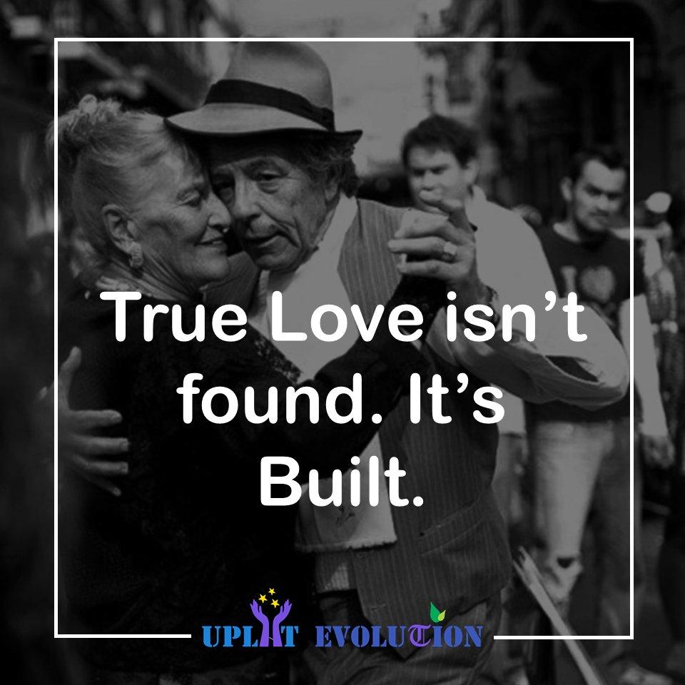 True Love isn't found. It's Built. . . #love #life #heart #beauty #real
