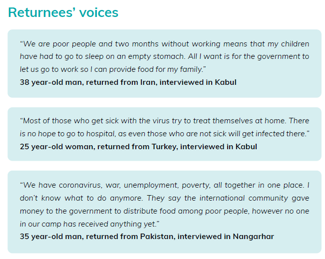 Now online!  MMC Asia's latest 4Mi snapshot: Knowledge of #COVID19, information sources & reported needs among #Afghan returnees  ➡️https://t.co/scaTJu4kDv  💡Including recommended focus & actions to protect returnees  Some key findings in thread⬇️ https://t.co/zW1CjG6dVg