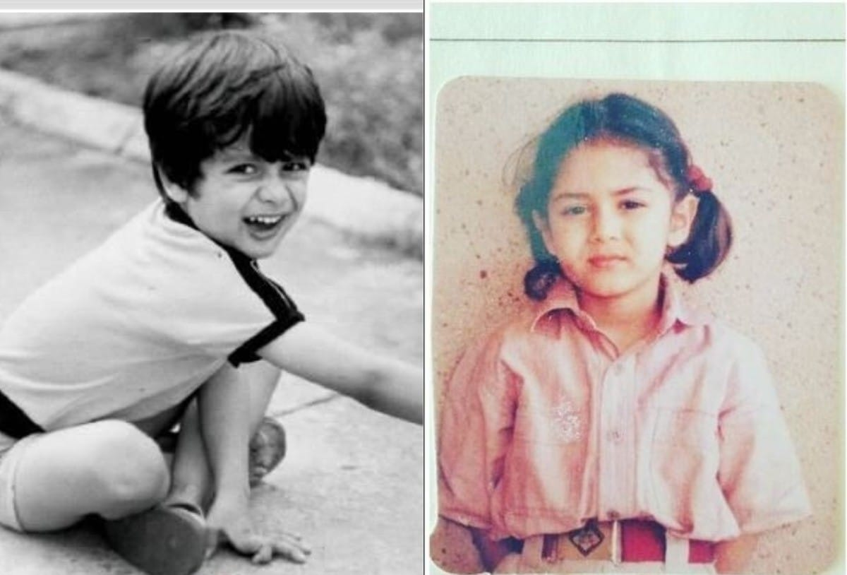 .@shahidkapoor and #MiraRajputKapoor look so cute in these adorable childhood throwback pictures!   #HappyAnniversaryShahidMirapic.twitter.com/2CoMaroQmB