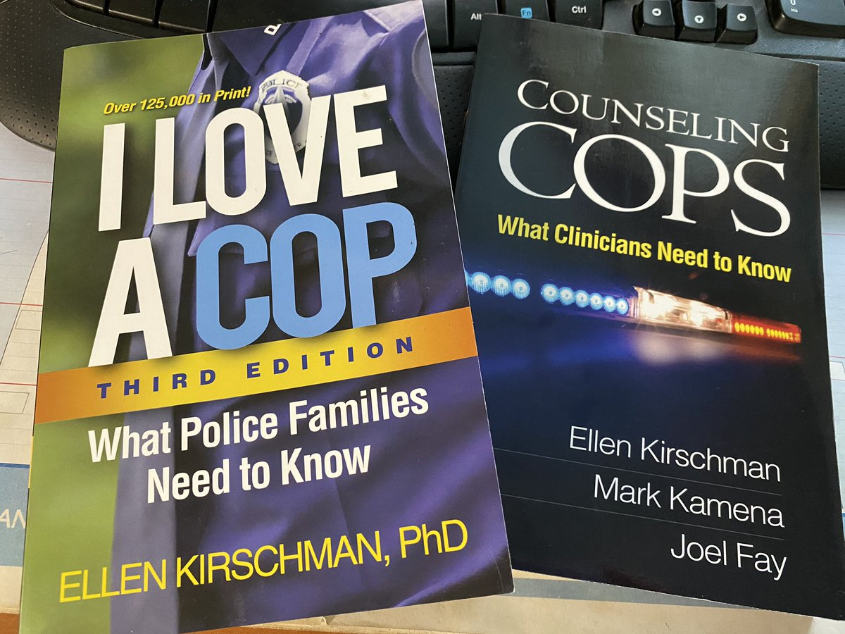 @rollcallroom got a little light reading in the mail this morning! Just in time for vacation in a few days. My 2nd dream profession, counselor. Time to go back to school since policing is not still in the cards! @ellenkirschman