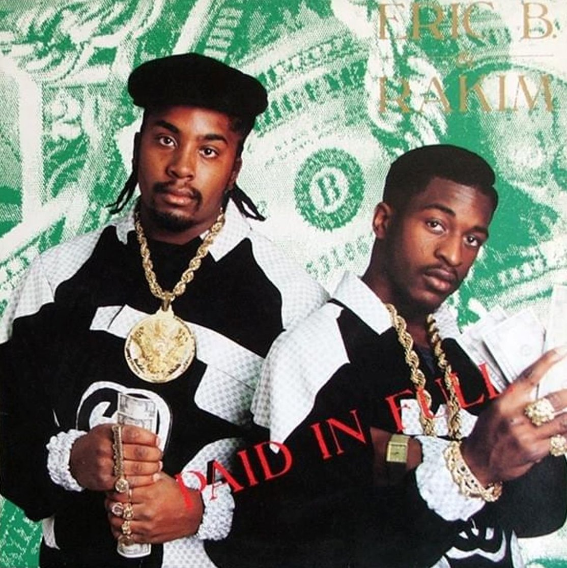 Eric B & Rakim released Paid In Full on this day in 1987.