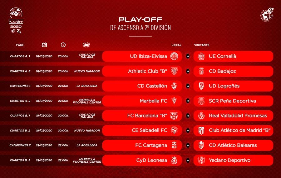 🚨 OFICIAL | Estos son los HORARIOS de los partidos del play-off de ascenso a Segunda División  ℹ️ https://t.co/vrg98J9F65 https://t.co/szUt4vG5RM