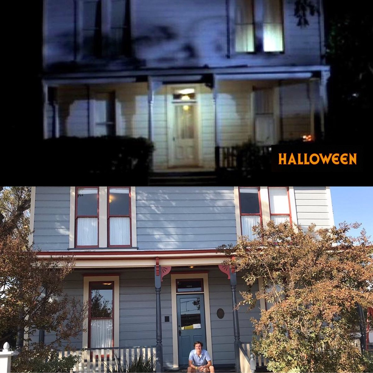 """Fun fact: """"Halloween"""" was originally titled """"The Babysitter Murders"""", which would've happened over multiple days. Due to budgetary reasons, they changed the script to have everything happen on the same day, which was Halloween."""