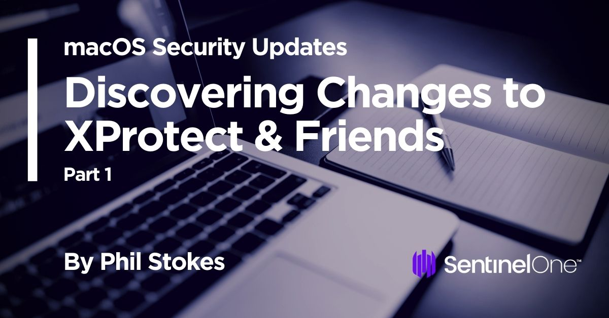 💻 Threat hunting on macOS also means keeping up with Apple security updates. This post begins a series on how to parse these updates to discover new threats - By @philofishal   https://t.co/f0CQ6peF5Q   #apple #macos #DFIR #Threathunting #infosec #Threat #hunting #mitre https://t.co/j8JsamHGZW