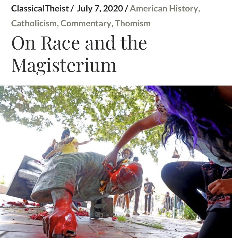 My article On Race and the Magisterium   https://t.co/JEGYvIrBqK https://t.co/IHONsDzBiX