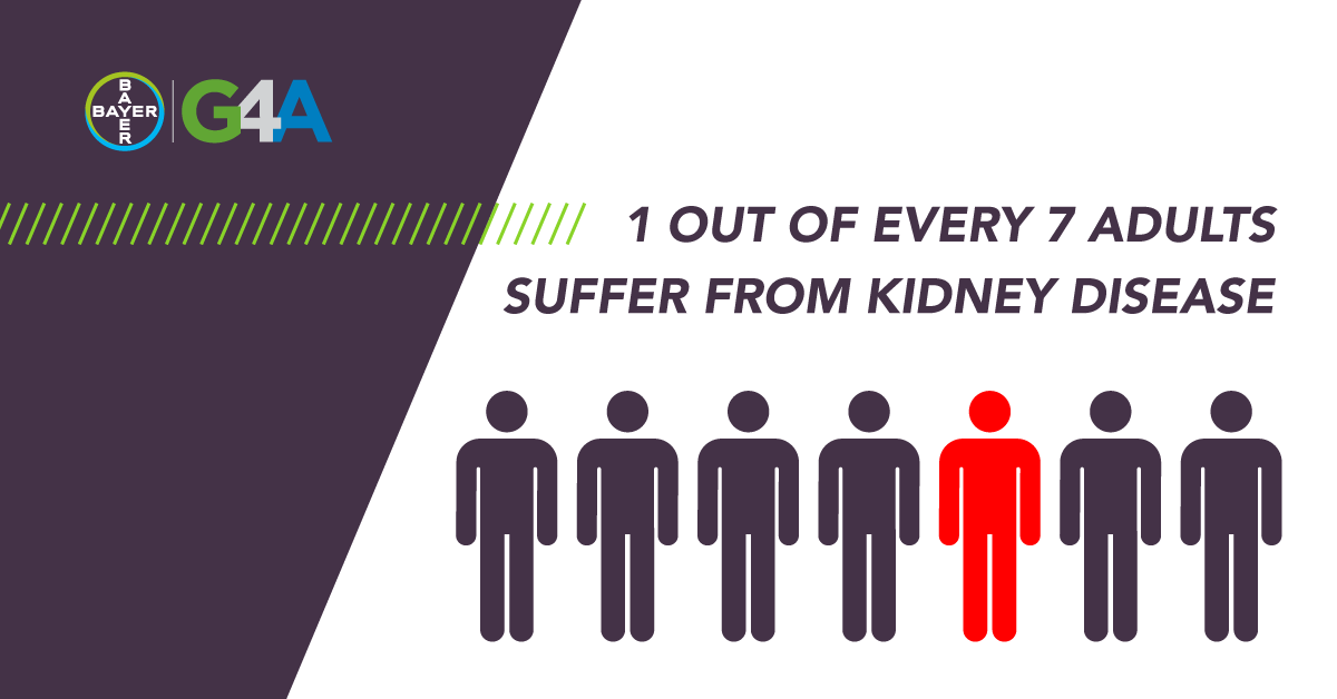 Did you know that 15% of adults suffer from #KidneyDisease? With its large presence, it's crucial to find better ways to treat it. That's why one of our focuses for our 2020 Partnership Program is designed to find #RenalDisease solutions. #DigitalHealth https://t.co/OUblX6KhAG
