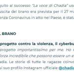 "Image for the Tweet beginning: La canzone ""#Bella #Così"" di"