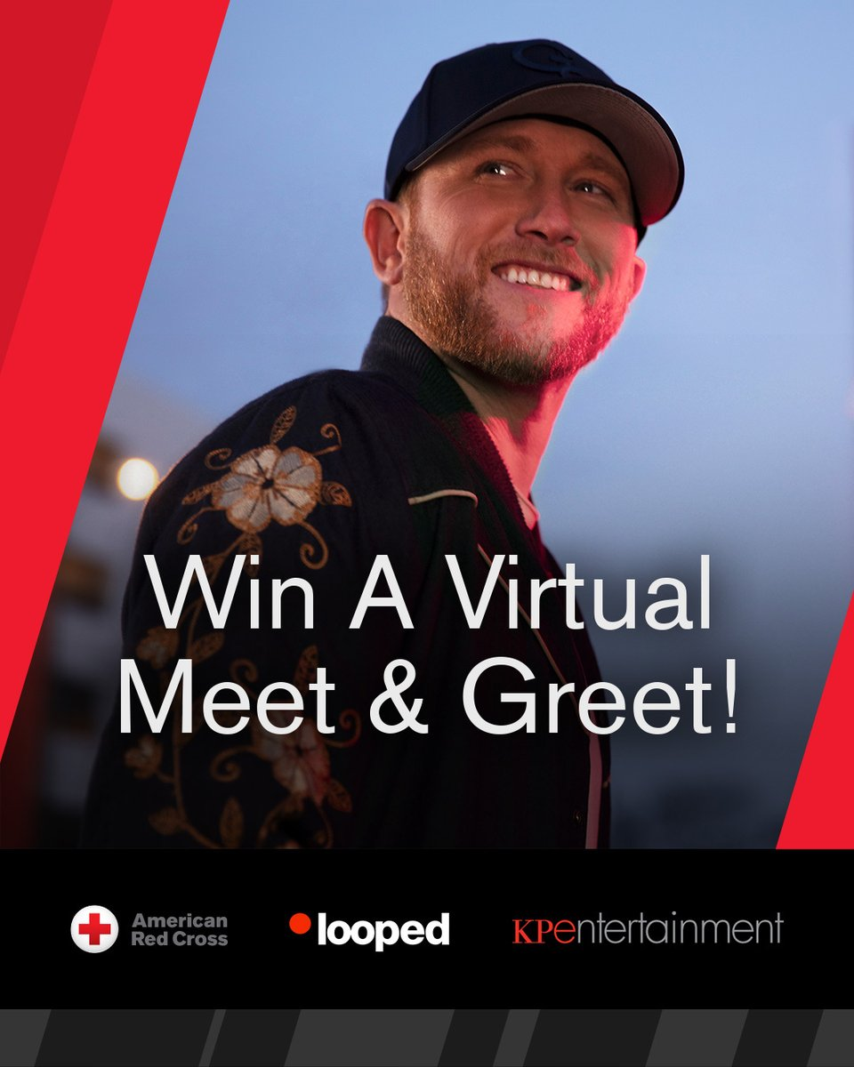 .@RedCross is always one of the first to show up when a natural disaster or tragedy strikes. I am honored to join this campaign. Click the link for your chance to win a one-on-one virtual meet & greet with me! Contest ends 7/10. https://t.co/YnWcFL420b https://t.co/O97zRhmrP4