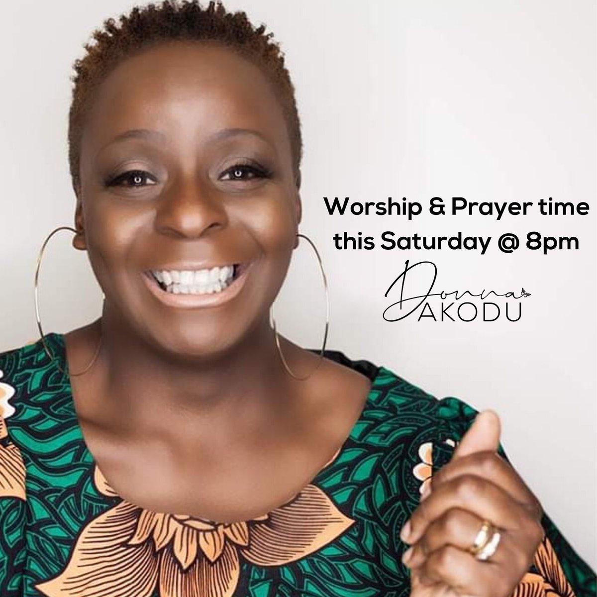 Put this date in your diary calendar tell Alexa & Siri Saturday 11 July @8pm on Facebook #worship #prayerpic.twitter.com/b8Z3WXF1VG