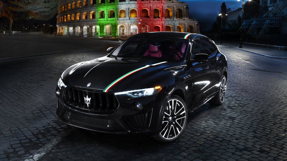 Performance and an innate Italian identity are always at the core of Maserati's DNA. The hand painted tricolor band is part of a limited edition livery for the Levante GTS and Trofeo . . #MaseratiofSeattle | @Maserati_HQ #Maserati #MaseratiLevante #LuxurySUV #ItalianMade https://t.co/1SIEVCGbZj
