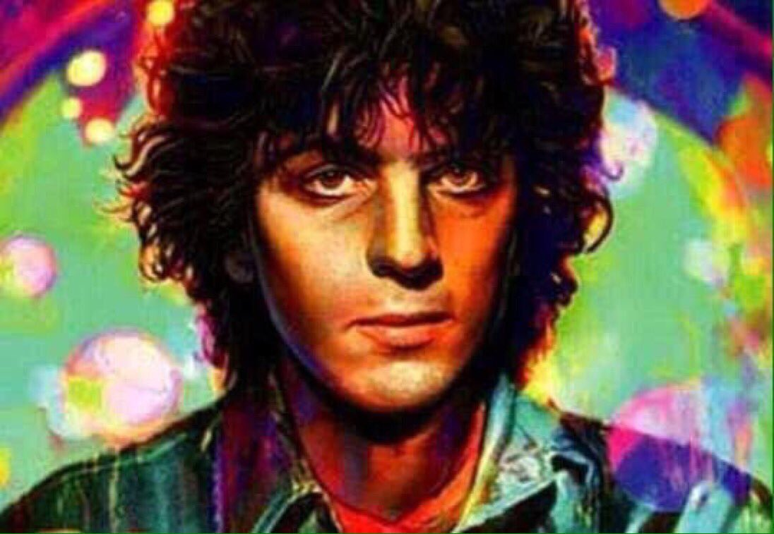 """On this day in 2006  Syd Barrett died in Cambridge, at the age of 60  """"Remember when you were young, you shone like the sun. Shine on you crazy diamond""""  """"Come on you raver, you seer of visions, come on you painter, you piper, you prisoner, & shine..""""  #PinkFloyd  @TheSydBarrett https://t.co/jErOeVGYcn"""