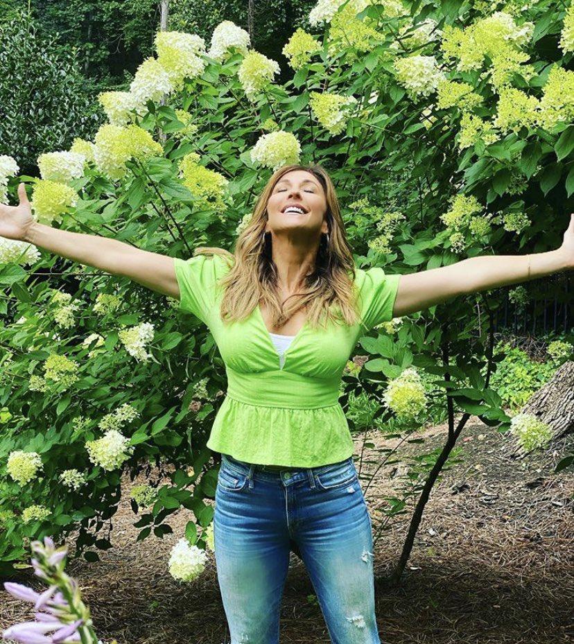 .@cdpullara is feeling free as a bird with her garden in bloom and a return to Instagram: instagram.com/cdpullara
