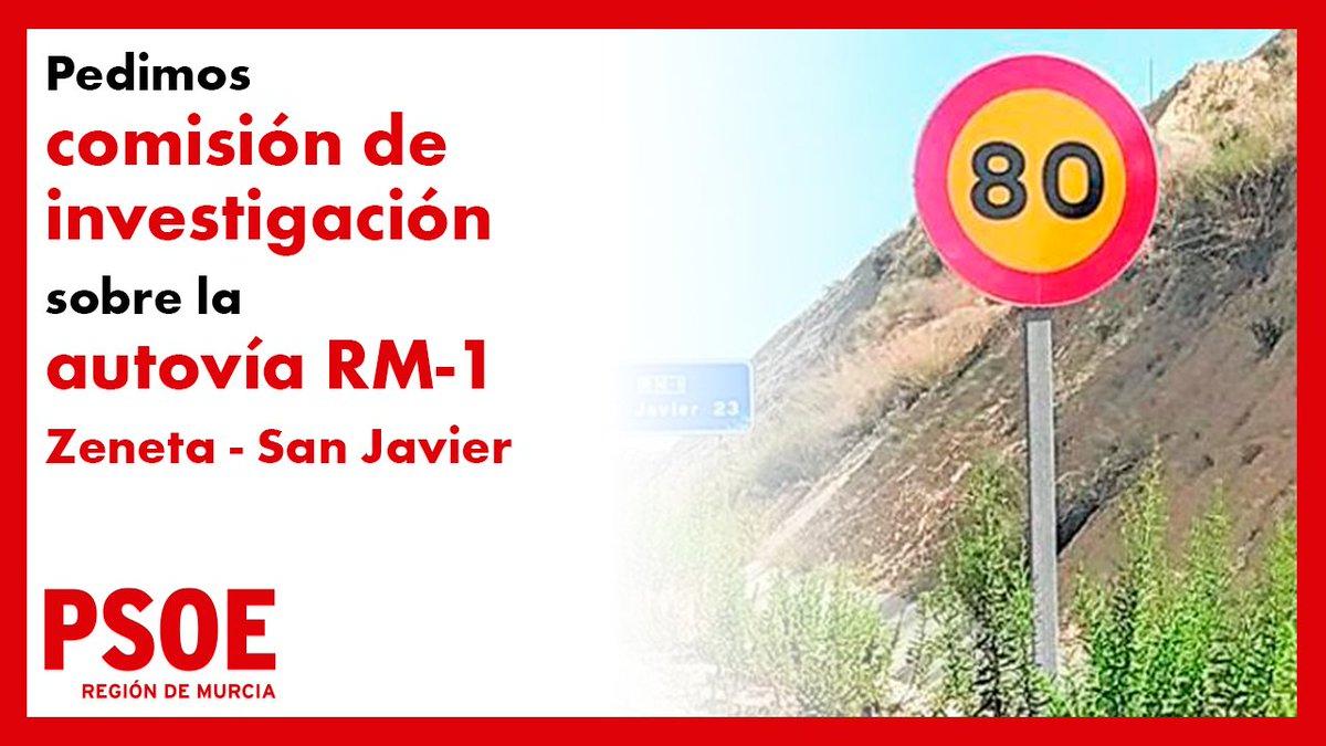 🛣️Queremos que se asuman responsabilidades por la chapuza de la Autovía Zeneta - San javier.  ➡️Fue inaugurada por Valcárcel en 2009 y nos costó a tod@s 110 Mill €  ⚠️Hace apenas 11 años, pero se encuentra en un estado pésimo.  https://t.co/OyPHSJ1goL https://t.co/cmzSEJMEXq