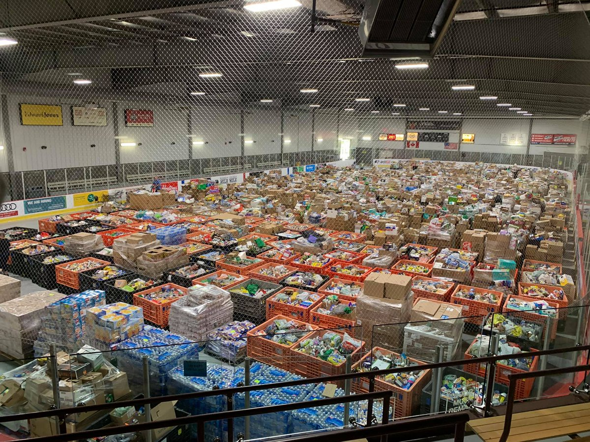 Now that's how it's done - way to go, Windsor-Essex! To the thousands of volunteers who rolled up their sleeves, and to everyone who pitched in and helped those who need it most, thank you. You are what makes our country so great. #June27Miracle