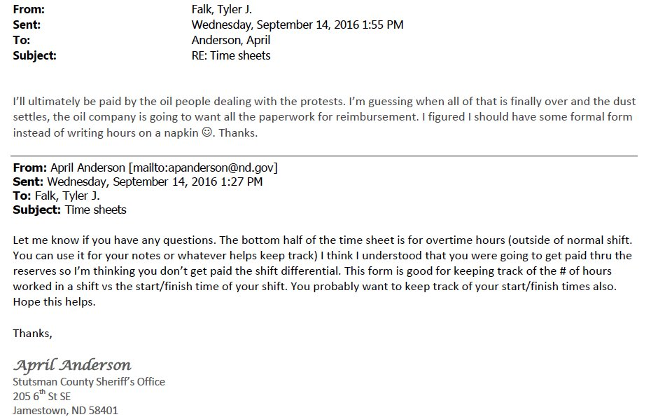 "A North Dakota official we reached for comment at the time chalked this email up to ""wishful thinking""."