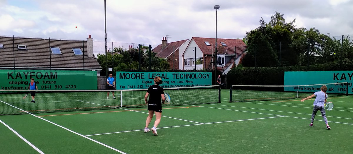 #PlayingOurPart | Clear communication is key as tennis clubs reopen their courts across the country.   Read more on how @GiffnockLTC and Forthill CTC have played their part in tennis returning🎾  👇  https://t.co/uviKPxcxNK https://t.co/p54Flchc5i