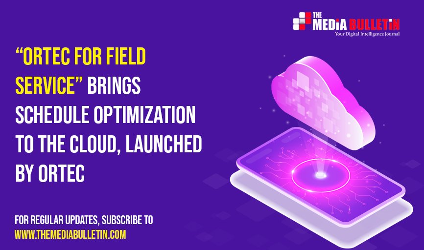 #ORTEC announced the launch and immediate #availability of its new 'ORTEC for Field Service' cloud-native #solution. Use our #voice feature to listen to this #PR! https://lnkd.in/dJBRBFQ  #themediabulletin #jobs #servicemanagement #organizations #technologysolutions pic.twitter.com/WdtnXqOBxt